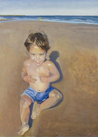Siena, azul y rosa.|PinturadeIgnacio Mateos| Compra arte en Flecha.es
