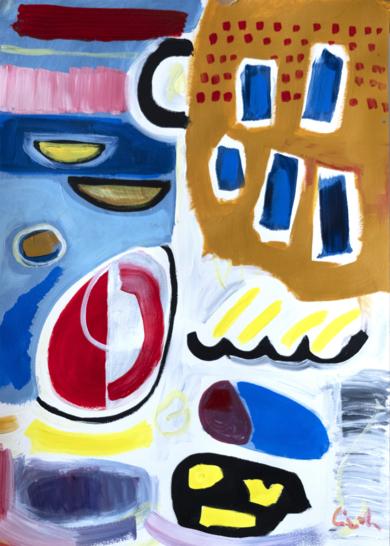 abstracción 2019 PinturadeMaciej Cieśla  Compra arte en Flecha.es