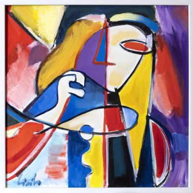 Chica aburrida|PinturadeMaciej Cieśla| Compra arte en Flecha.es