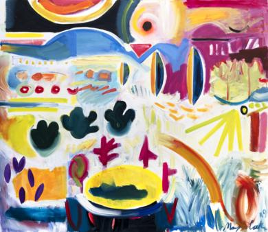 formas y colores de la naturaleza|PinturadeMaciej Cieśla| Compra arte en Flecha.es