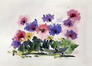 Floral|PinturadeJesus| Compra arte en Flecha.es