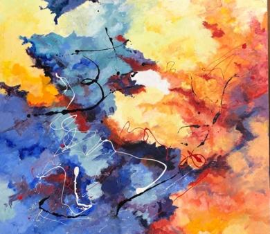 Fuego|PinturadeJesus| Compra arte en Flecha.es