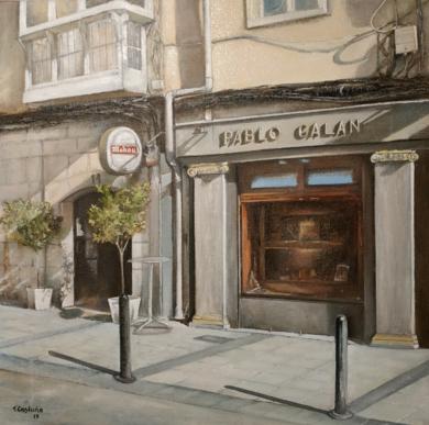 Joyería Galán-Santander|PinturadeTOMAS CASTAÑO| Compra arte en Flecha.es