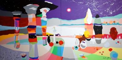 Mi Santuario|PinturadeALEJOS| Compra arte en Flecha.es