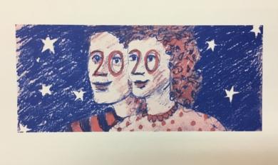 2020|IlustracióndeJaelius Aguirre| Compra arte en Flecha.es
