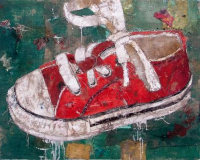 ZAPATILLA DE NIÑO|CollagedeBarbeito| Compra arte en Flecha.es