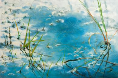 AGUAS CONTEMPLADAS XVI|PinturadeAna Zaragozá| Compra arte en Flecha.es