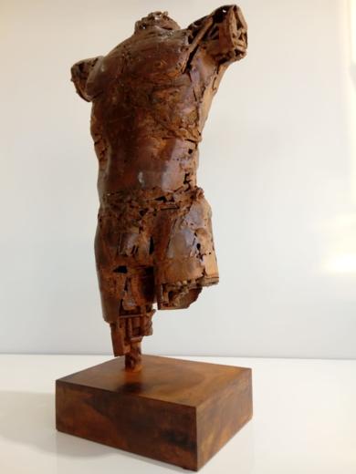 TORSO MASCULINO|EsculturadePablo Rebollo Pérez| Compra arte en Flecha.es