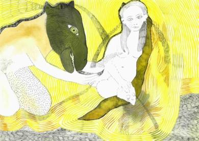 Chorar os osos tamén|DibujodeReme Remedios| Compra arte en Flecha.es