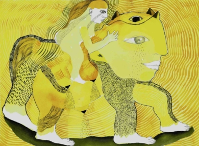 Chorar a luz|DibujodeReme Remedios| Compra arte en Flecha.es