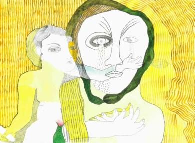 Chorar a fonte da serpe|DibujodeReme Remedios| Compra arte en Flecha.es