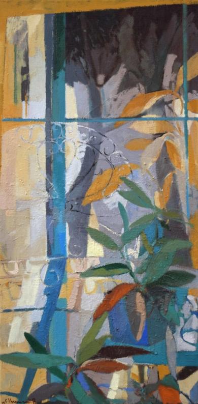 La silla de Julieta|PinturadeCarolina Veramendi B| Compra arte en Flecha.es