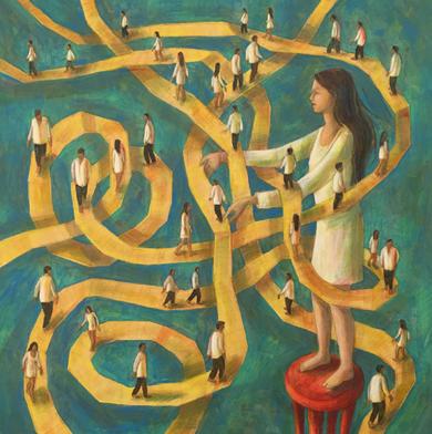 Encuéntrame|PinturadeLuz Letts| Compra arte en Flecha.es