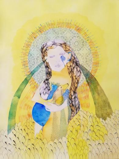 Chorar las hojas amarillas|CollagedeReme Remedios| Compra arte en Flecha.es