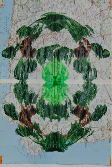 Impronta #4 (Bosque sin raíz)|CollagedeFabiana Zapata| Compra arte en Flecha.es