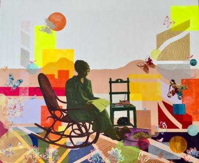 La carta|CollagedeOlga Moreno Maza| Compra arte en Flecha.es