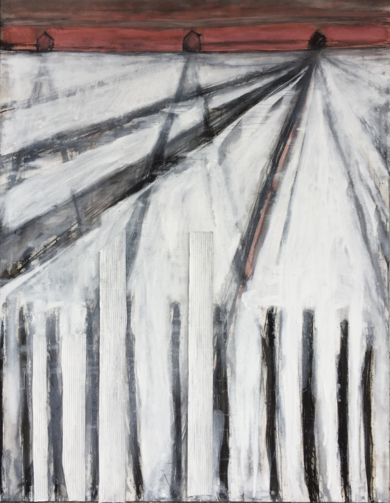 """FRONTERA""|PinturadeLaura Valcárcel| Compra arte en Flecha.es"