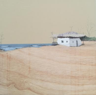 Arenas cálidas|CollagedeEduardo Query| Compra arte en Flecha.es