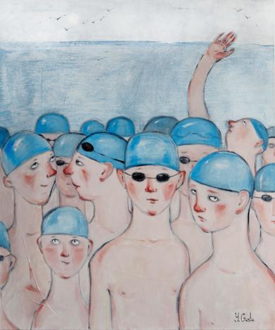 FLOCK|PinturadeYana Medow| Compra arte en Flecha.es