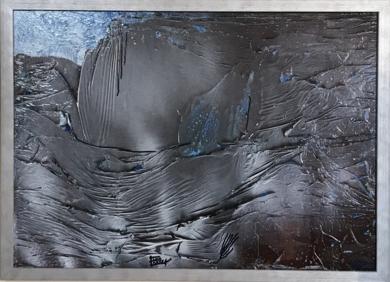 Satén gris|PinturadeEnric Correa| Compra arte en Flecha.es