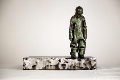 Cuestión de perspectiva|Escultura de pareddeReula| Compra arte en Flecha.es