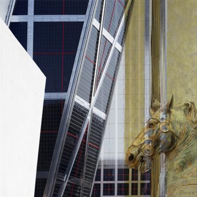 Madrid/Roma 2 (de la serie DOBLES)|DigitaldePaco Díaz| Compra arte en Flecha.es