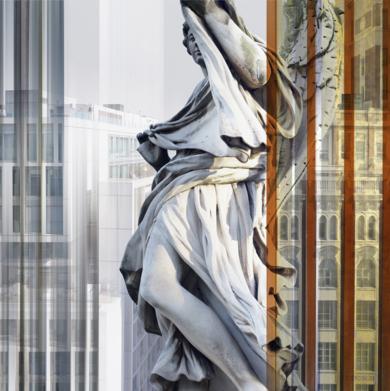 Madrid/Roma 3 (de la serie DOBLES)|DigitaldePaco Díaz| Compra arte en Flecha.es