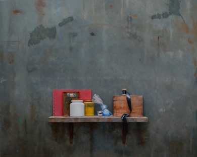 PIGMENTO AZUL|PinturadeLUIS    GOMEZ    MACPHERSON| Compra arte en Flecha.es