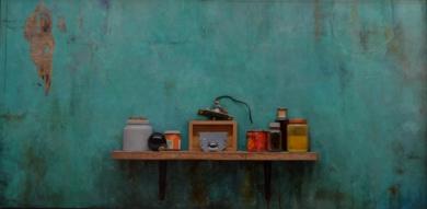 VERDE    COMPUESTO|PinturadeLUIS    GOMEZ    MACPHERSON| Compra arte en Flecha.es
