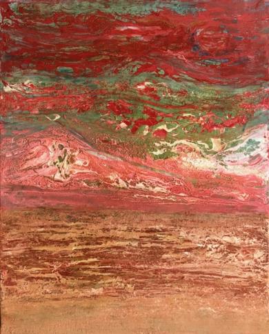 Tierra de fuego|PinturadeEnric Correa| Compra arte en Flecha.es