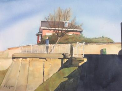 Mirador de Ereaga|PinturadeChela Grijelmo| Compra arte en Flecha.es