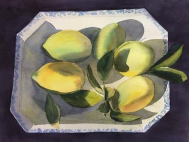 Limones|PinturadeChela Grijelmo| Compra arte en Flecha.es
