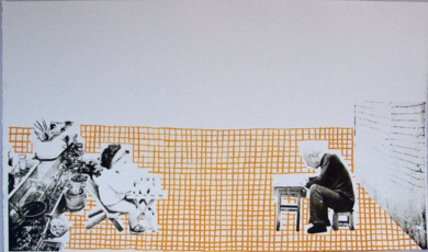 La cuadrícula|Obra gráficadeAna Valenciano| Compra arte en Flecha.es