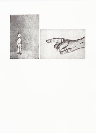 Te lo advierto|Obra gráficadeAna Valenciano| Compra arte en Flecha.es