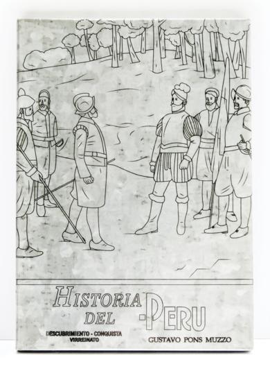 TEXTO ESCOLAR HISTORIA DEL PERÚ|EsculturadeMicaela Aljovín| Compra arte en Flecha.es