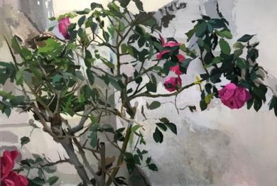 Rosal II|PinturadeAntonio Barahona| Compra arte en Flecha.es