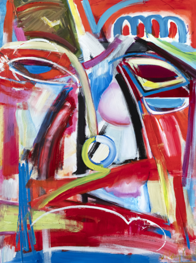 Abstracción, arquetipo de retrato|PinturadeMaciej Cieśla| Compra arte en Flecha.es