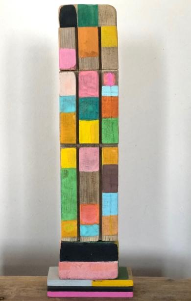 MONDRIANA|EsculturadeISABELRUIZPERDIGUERO| Compra arte en Flecha.es