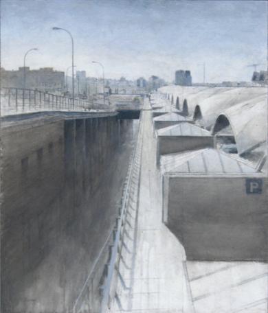 Atocha|PinturadeJosé Luis Romero| Compra arte en Flecha.es