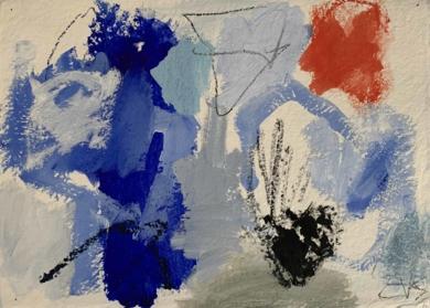 Into the Blue|PinturadeEduardo Vega de Seoane| Compra arte en Flecha.es