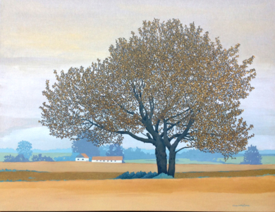 Paisaje de Escania|PinturadeCharlotte Adde| Compra arte en Flecha.es