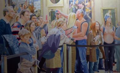 Como en el cuadro PinturadeJose Belloso  Compra arte en Flecha.es