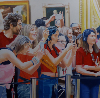 Móviles arriba  II|PinturadeJose Belloso| Compra arte en Flecha.es
