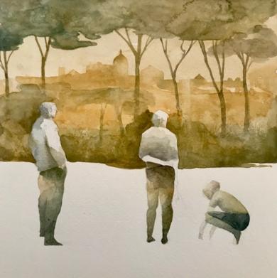 VIAJES IV (AMANECER)|CollagedeMenchu Uroz| Compra arte en Flecha.es