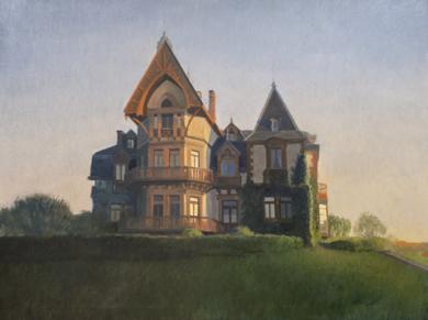 La casa del Duque|PinturadeOrrite| Compra arte en Flecha.es