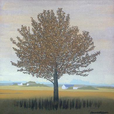Pequeño paisaje I|PinturadeCharlotte Adde| Compra arte en Flecha.es