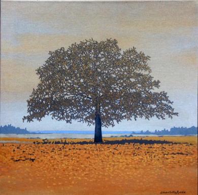 Pequeño paisaje II|PinturadeCharlotte Adde| Compra arte en Flecha.es