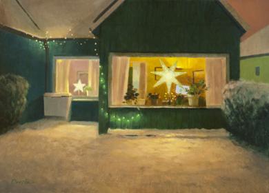Noche fría de invierno|PinturadeOrrite| Compra arte en Flecha.es