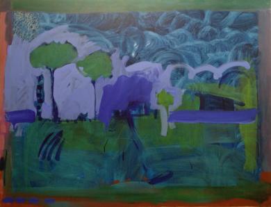 PAISAJE POR EXPLORAR|PinturadeJesús Cuenca| Compra arte en Flecha.es
