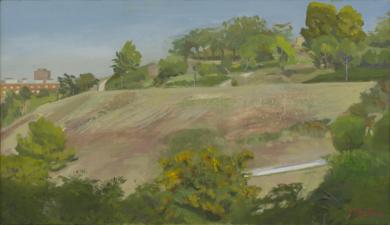 Parque de las Tetas|PinturadeIgnacio Mateos| Compra arte en Flecha.es